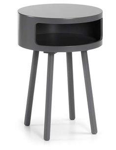 LaForma :: Stolik drewniany Bruk Ø40 cm