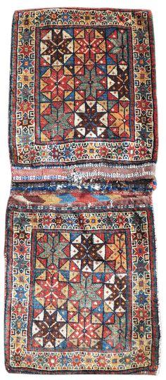 Qashqai Khorjin, saddle bag from Iran