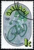 Timbre vélo Grenade