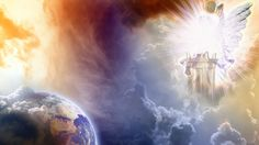 .Then the angel took the censer, filled it with fire from the altar, and hurled it on the earth; and there came peals of thunder, rumblings, flashes of lightning and an earthquake.   Rev. 8:5