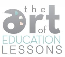 Lesson Ideas - Including - optical illusions, kandinsky lines, fall line leaves, action jackson lines, 12 hue color wheel, van gogh sunflowers, aboriginal dot painting, optical illusions, symmetry butterfly