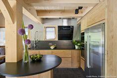 Cuisine Moderne Couleur Bois: Cuisine: cuisine moderne en bois avec ...