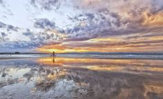 Reflecting on a Sunset by Cheryl Styles New South, South Wales, Cheryl, Landscape Art, Reflection, Mountains, Sunset, Nature, Photography