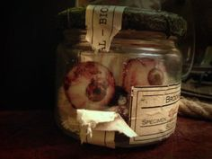 Eye Specimen Jar Tutorial