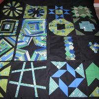 """Projects from """"The Craftsy Block of the Month"""""""