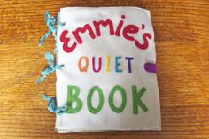 The Quiet Book Blog: Amy's quiet books