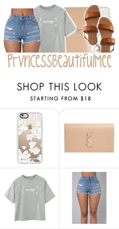 """"" by prvncessbeautifulmee ❤ liked on Polyvore featuring Casetify, Yves Saint Laurent and Aéropostale"