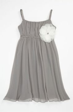 Flower Girl :) Us Angels Empire Waist Dress (Little Girls & Big Girls) | Nordstrom