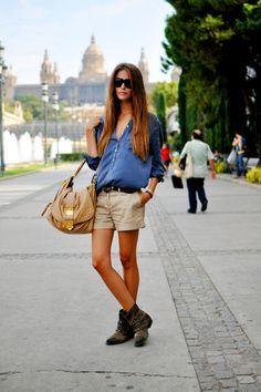 bege com jeans