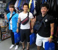【新宿2号店】 2013年6月2日 名古屋からお越し頂いた皆さんのご紹介です☆ また時間がある際は遊びにいらして下さいね!