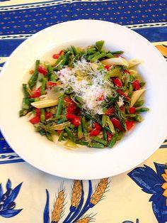 Penne with Asparagus