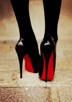 d706624f7166 Christian louboutin heels. Oh yes!! Sexy just Sexy Black Tights