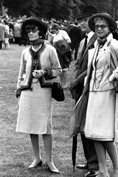 Coco Chanel- she believed the ideal skirt should cover the knees.