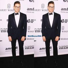 Matt Bomer at AMFAR'S Inspiration Gala. Perfect style, as usual  #mattbomer