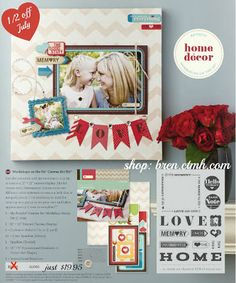 cReAtE with bReN yULe ~ tHe iNsPiRaTiOn InStiTuTe: CTMH Canvas Art Kit Special~1/2 off in July!