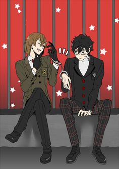 This is a total Light and L type of thing, like think about it, Akira uses supernatural powers to do stuff and Akechi is the detective trying to catch him I guess albeit without the killing and poptato chips