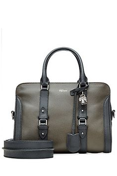 Inject timeless elegance into any look with this textured leather tote from Alexander McQueen #Stylebop