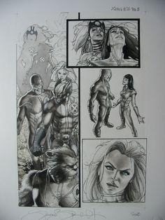 Simone Bianchi - Astonishing X-Men #26 page 5 Comic Art