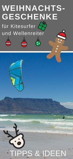 Hier findest du Ideen und Tipps für die perfekten Weihnachtsgeschenke für Kitesurfer und Wellenreiter