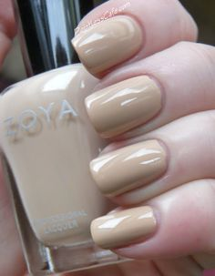 Zoya Naturel Collection - Swatches and Review | Pointless Cafe CHANTAL
