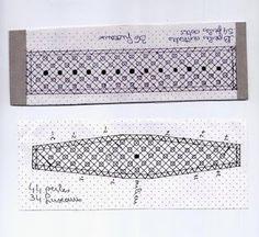 .: PULSERA DE LOLA DE GUIPÚZCOA Bobbin Lace Patterns, Weaving Patterns, Craft Patterns, Agbada Styles, Lacemaking, Parchment Craft, Lace Heart, Lace Jewelry, Tatting Lace