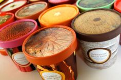Botanic Flavors Ice Cream Packaging by Kimberly Winder