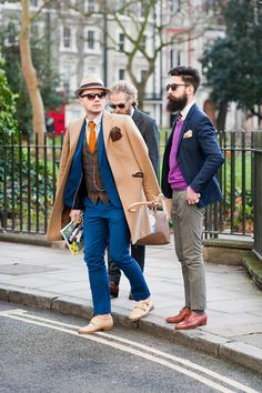 The best dressed men from the streets of London Fashion Week