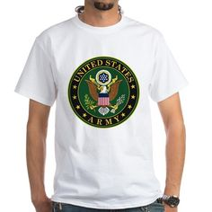 US Army T-Shirt #UnitedStatesArmy #Army  #SupportourTroops  #ArmyStrong #SupportourMilitary #USA Lots of products  For this design click here --  http://www.cafepress.com/dd/97168084