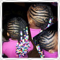 #cornrows #plaits #children #hairstyle