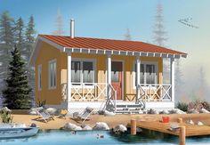 Cabin   House Plan 76165