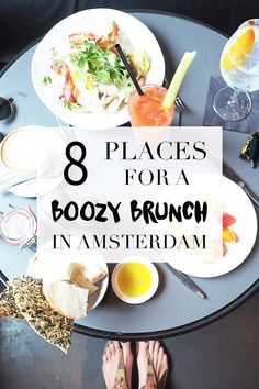 Amsterdam has great hotspots for a boozy brunch. If you want to know which restaurants, bars and cafes you should go to, read the list on travel blog http://www.yourlittleblackbook.me for more info! Planning a trip to Amsterdam?
