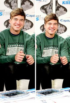 Calum has such a beautiful mind... I long to travel through his mind just for a day. He has a certain grace about the expression of himself.