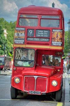 Double decker bus - the BEST way to see the London sites