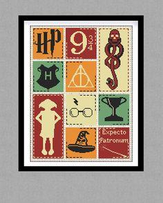 BUY 2 GET 1 FREE. Harry Potter Cross stitch par GlazovPattern