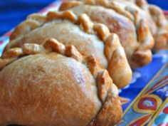 Sweet Potato Empanadas: Sweet Potato Empanadas - Empanadas de Camote - Recipe for Sweet Potato and Caramelized Onion Empanadas