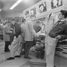 50´s shopping