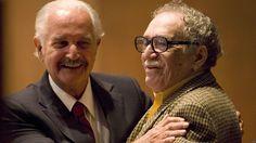 Carlos Fuentes con el Premio Nobel de Literatura colombiano Grabriel García Márquez.