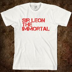Sir Leon The Immortal - Knights of the Round Table on back $22.99