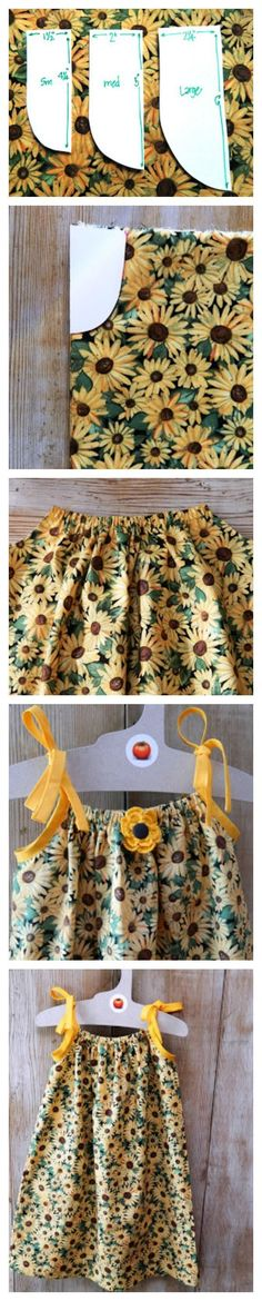 How to Make A Dress from Pillow Case