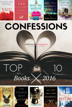 Check out my top 10 books of 2016 #goodreads