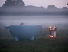 DUTCHTUB - oh my even comes with a WOK so you can cook on the open fire while someone is in the tub :-)