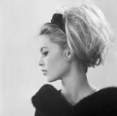 The perfect updo | Brigitte Bardot