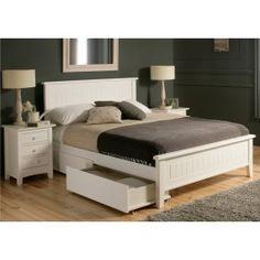 Sleep Emporium // New England 2 Wooden Bed Frame - $229.00