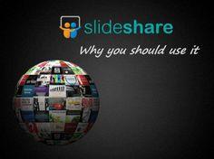 SlideShare è il più grande archivio web di presentazioni, pdf e video  why you should use slide share