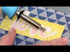 FUSEables Collection from We R Memory Keepers - YouTube