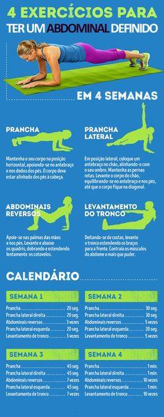 exercicios para abdominal definido