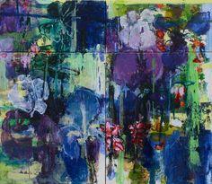 Caroline BF Havers.. Private Gardens #2 Irises - I Will Always Love You