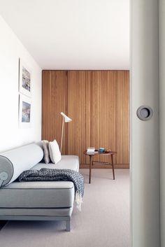 Apartment in Sanxenxo by Javier Velo, via Behance