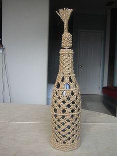 macrame bottle