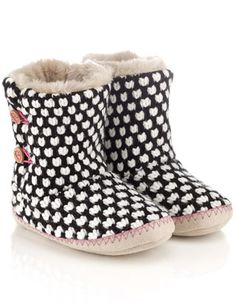 Popcorn Slipper Boots | Multi | Accessorize